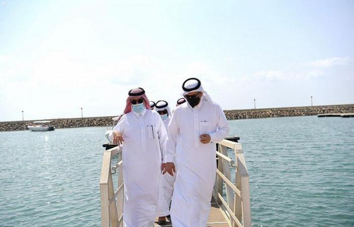 """""""البيئة"""" تطلق مبادرة """"توطين مهنة الصيد"""" بمرفأ الصيادين في الشقيق"""
