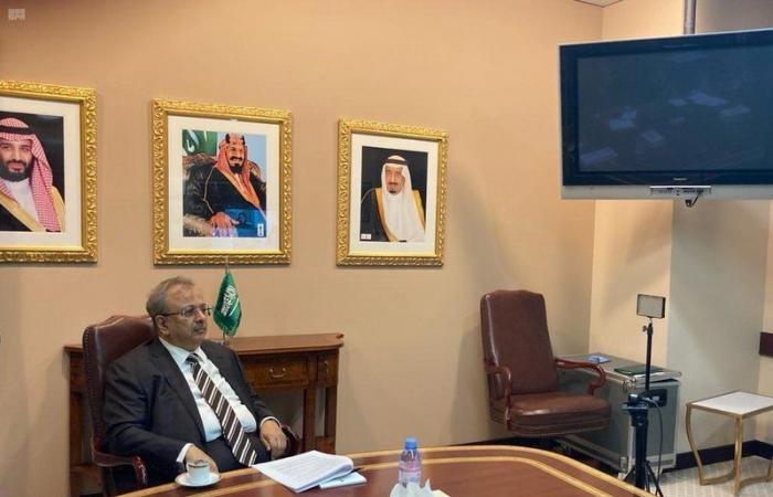 المعلمي يرأس الاجتماع 21 للمجلس الاستشاري لمركز الأمم المتحدة لمكافحة الإرهاب