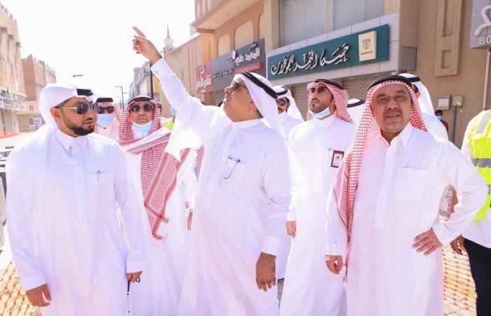"""بالصور.. """"الجبير"""" و""""الحشاني"""" يطلعون على أبرز مبادرات وتجارب أمانة الشرقية"""