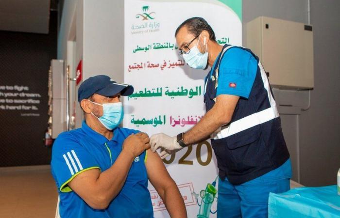 """""""وقت اللياقة"""" تواصل تعاونها مع القطاع الصحي وتكرم التجمع الأول بالمنطقة الوسطى"""