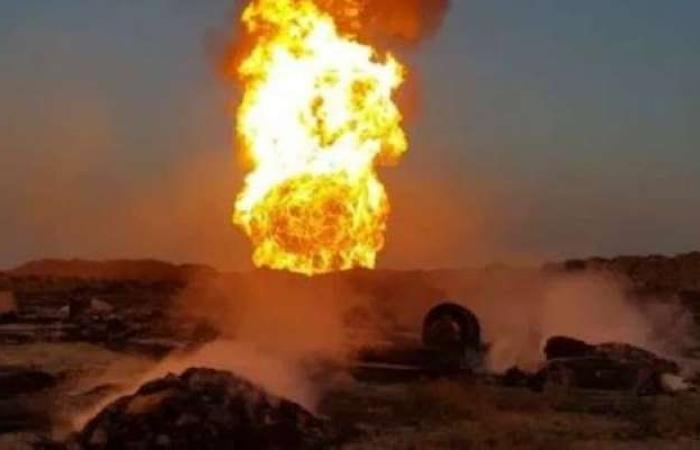 العراق.. مقتل شخصين وإصابة 51 في انفجار خط غاز جنوب البلاد