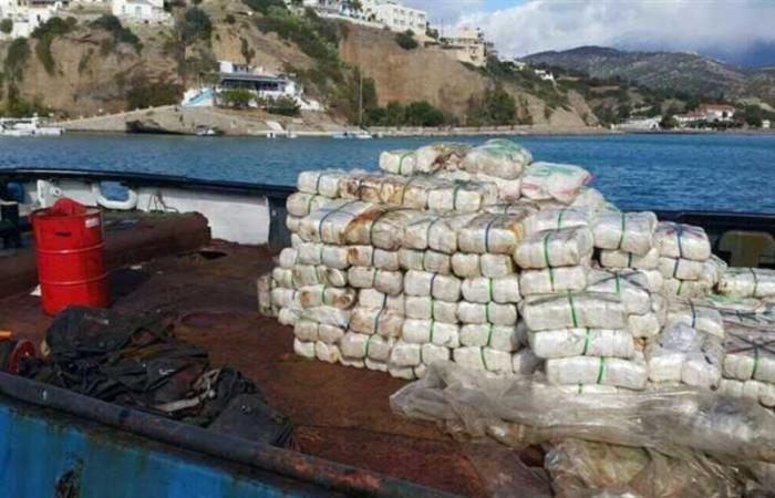 مصر.. إحباط محاولة تهريب 6 أطنان من الحشيش بسفينة تجارية في ميناء دمياط