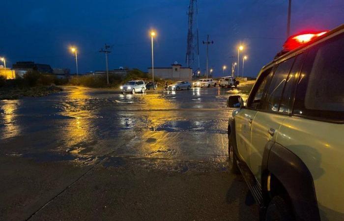 المديرية العامة للدفاع المدني تحذر.. الأمطار والسيول تضرب 10 مناطق
