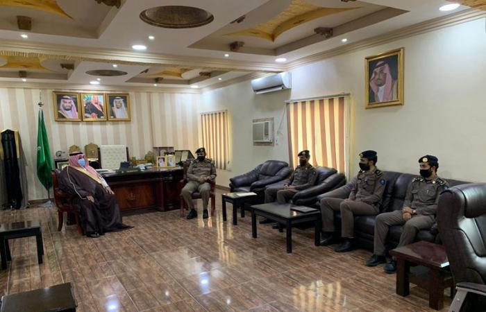 محافظ حبونا يرأس اللجنة الفرعية للدفاع المدني