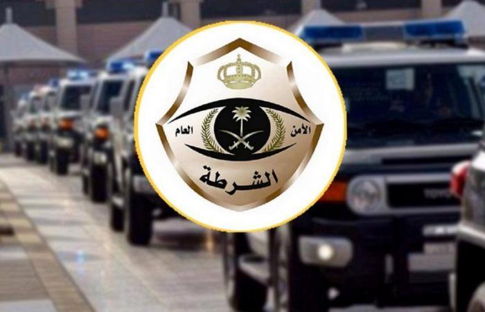 شرطة الرياض تطيح بشخصين استوليا على محتويات مركبات