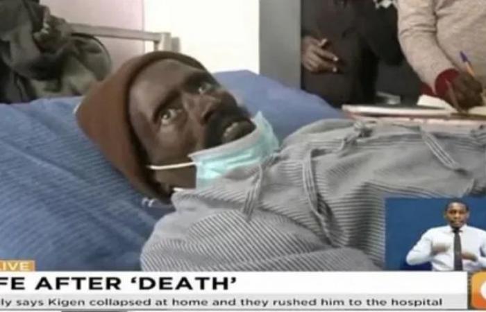 رجل يعود إلى الحياة بعد 3 ساعات من إعلان وفاته