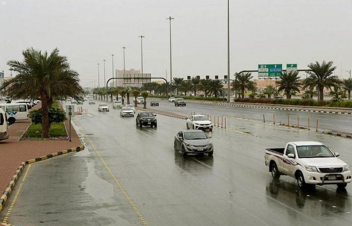 أمطار على عدة مدن ومحافظات في الشرقية