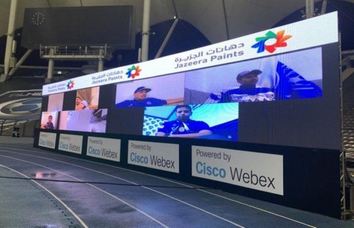 شاشات افتراضية لحضور جماهير الهلال والنصر.. في نهائي كأس الملك
