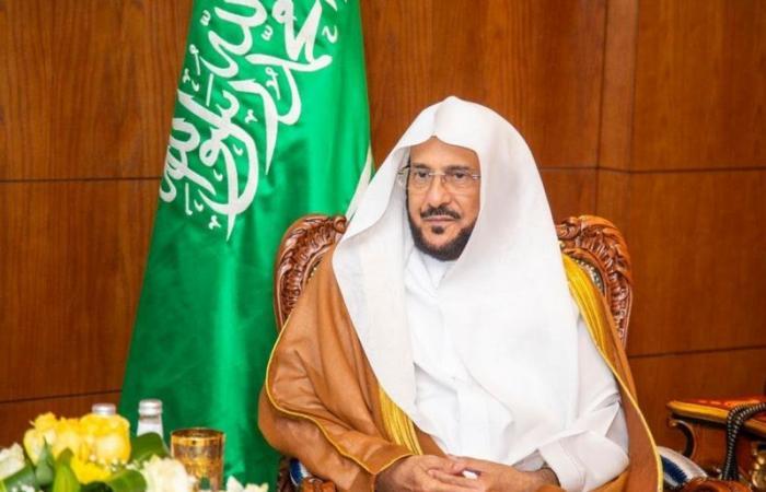 """""""آل الشيخ"""" يوجّه بتكريم واستضافة الطالب زهير القرني"""