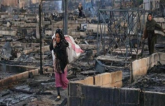 """سوريا تعلق على """"مأساة"""" مخيم اللاجئين.. واعتقال عناصر متورطة"""