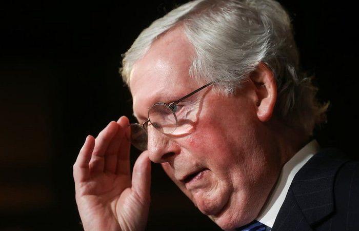 زعيم الجمهوريين بالشيوخ: مساءلة ترامب لن تكتمل قبل تنصيب بايدن