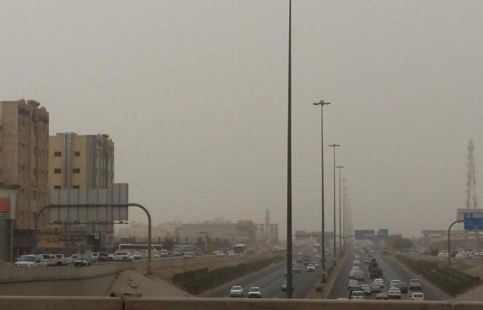 """تنبيه لـ """"الأرصاد"""": رياح نشطة وأتربة مثارة على محافظة ينبع"""