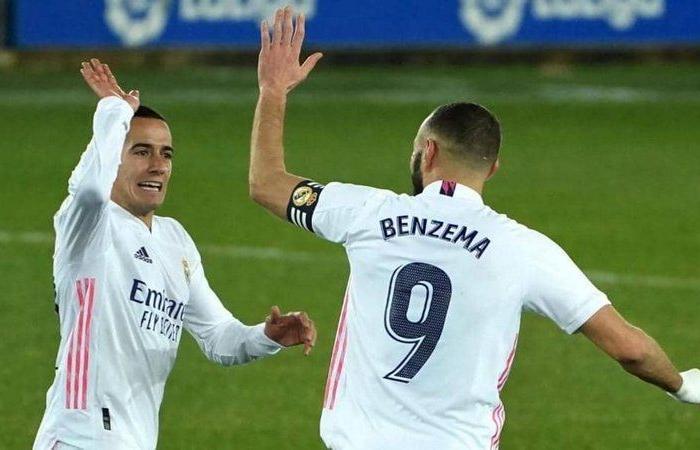 """غاب زيدان بفعل """"كورونا"""" فانتفض ريال مدريد وحقق فوزًا """"رباعيًّا"""""""