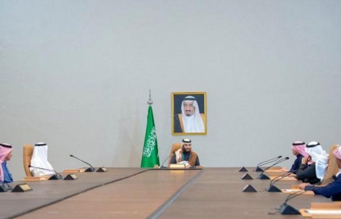 ولي العهد: نسعى لتحقيق تطلعات ملك عظيم وشعب عظيم يسكن وطناً عظيماً اسمه المملكة العربية السعودية