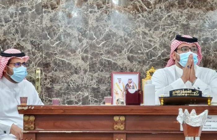 """""""الظافري"""" يبحث احتياجات محافظة جازان ومراكزها مع """"الواصلي"""""""