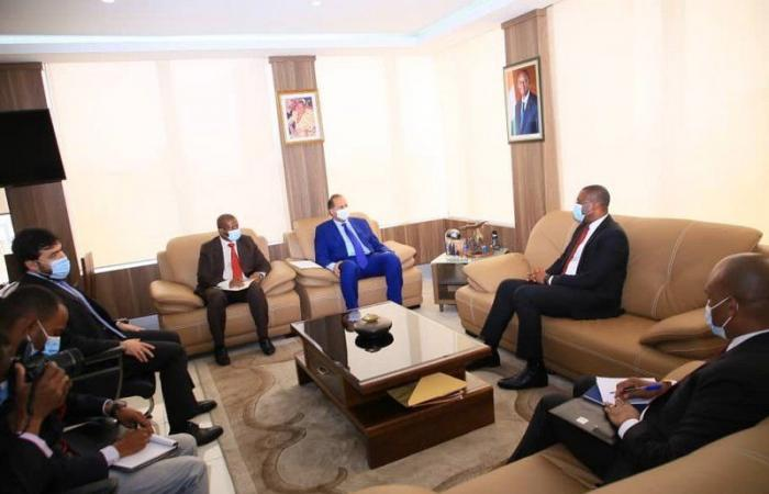 """""""توري"""" يلتقي سفير خادم الحرمين لبحث التعاون على الصعيد الإعلامي"""