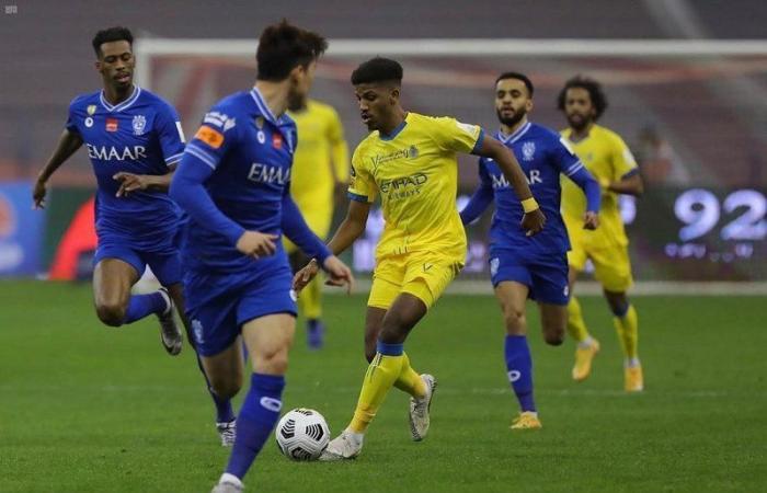 """الليلة.. """"ديربي الرياض"""" يشعل منافسة الجولة 20 من دوري المحترفين"""