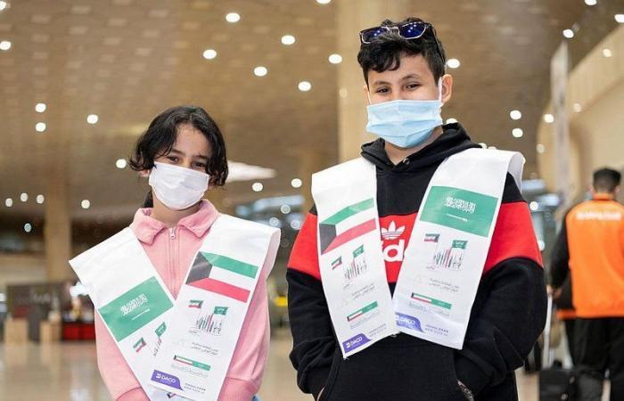 """مطارات المملكة تحتفل باليوم الوطني الكويتي الـ 60 تحت شعار """"تاريخ راسخ"""""""