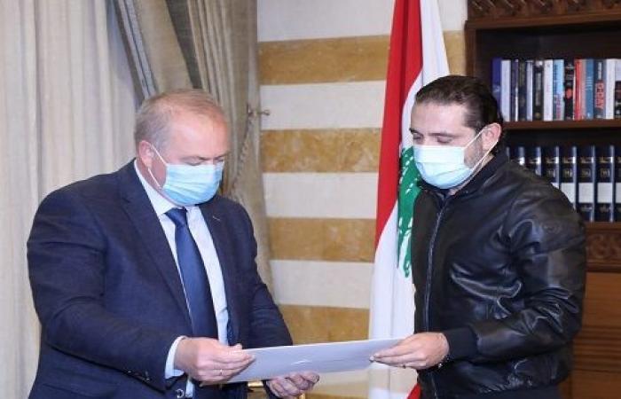الحريري يبحث مع السفير الروسي العقبات التي تعترض تشكيل الحكومة