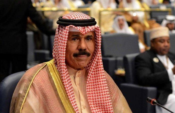 الحكومة الكويتية تؤدي اليمين الدستورية أمام الأمير نواف