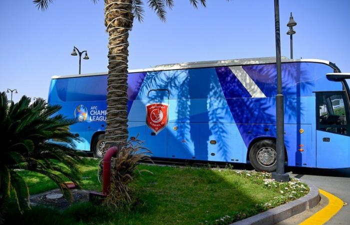 الدحيل القطري يصل جدة.. للمشاركة في دوري أبطال آسيا