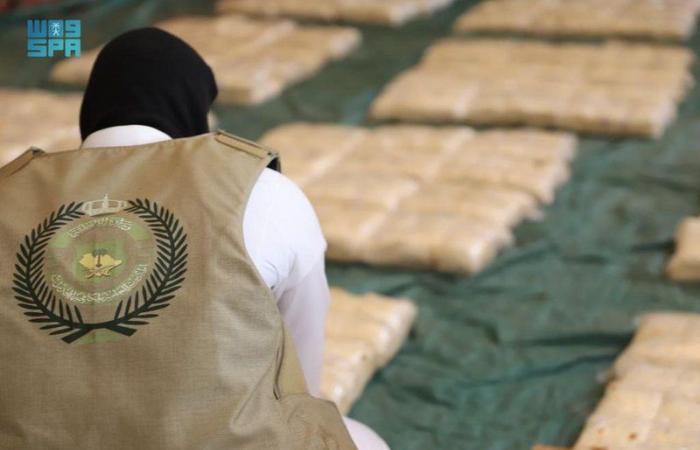 إحباط محاولة تهريب 5.2 مليون قرص مخدر داخل شحنة فاكهة بميناء جدة