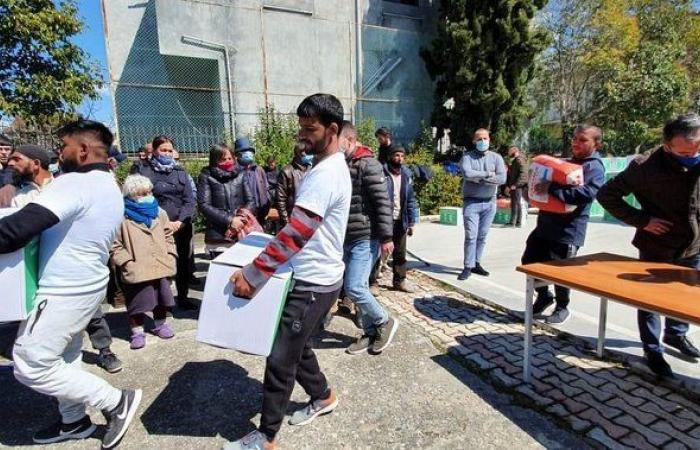 مركز الملك سلمان للإغاثة يواصل تقديم السلال الغذائية في اليمن ولبنان وتشاد وموريتانيا