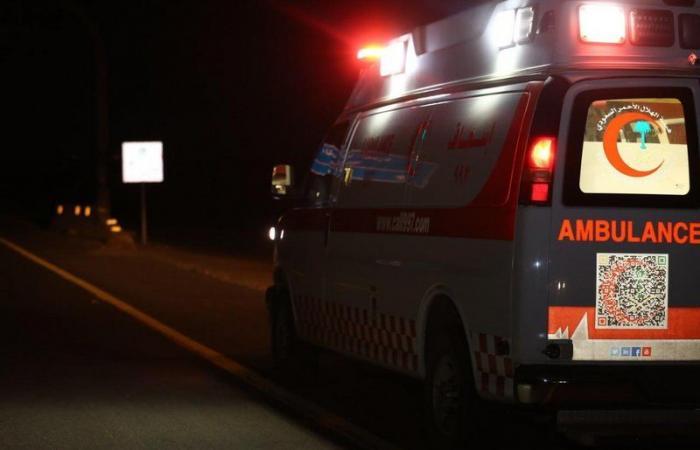 حادث مروري يتسبب بانقلاب مركبة شمال شرق جدة ويخلف 6 إصابات