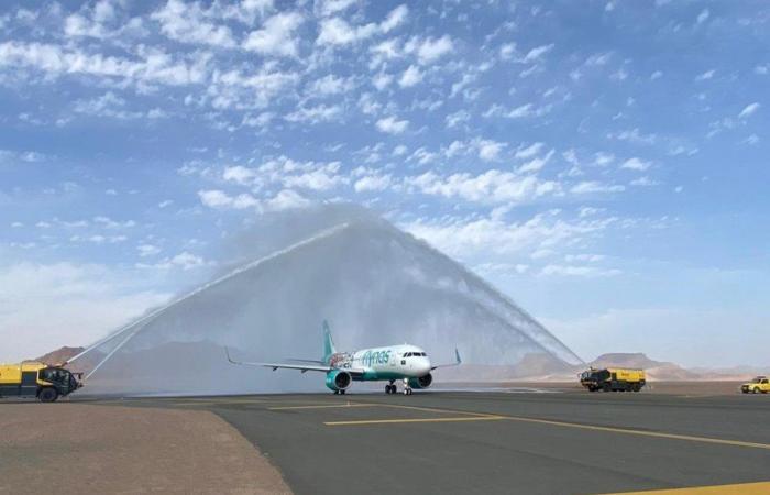 """""""طيران ناس"""" يعلن عن جاهزيته واستعداده لإطلاق 12 وجهة دولية لصيف 2021م"""