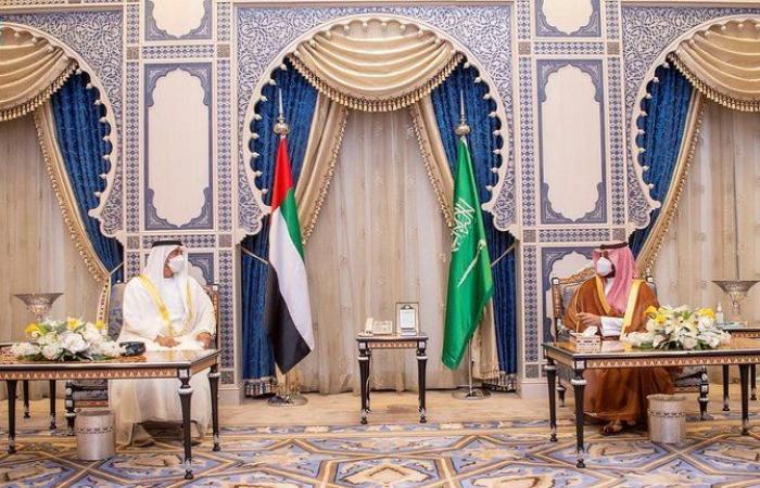 ولي عهد أبوظبي: بحثت مع أخي محمد بن سلمان العلاقات التي نمضي فيها معًا بقوة