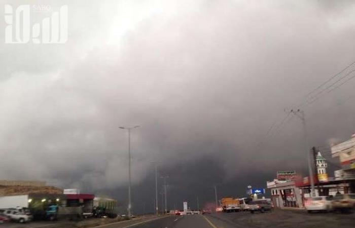 """""""الوطني للأرصاد"""": أمطار رعدية على منطقة الباحة"""