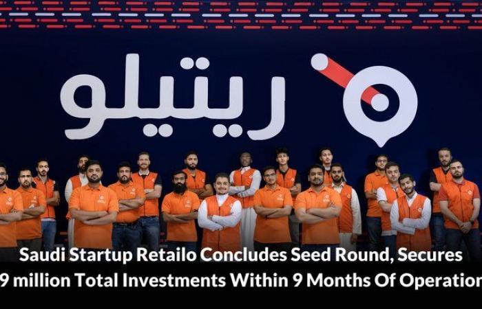 منصة Retailo تختتم جولتها الاستثمارية التأسيسية بجمع 33 مليون ريال كاستثمارات إجمالية