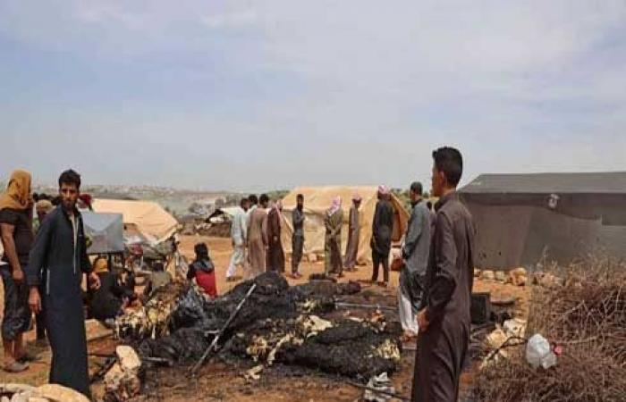 مقتل شخصين وجرح 6 آخرين بانفجار مستودع أسلحة في ريف إدلب