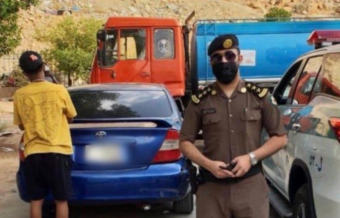فيديو وبلاغ سرقة كاذب.. سقوط قائد مركبة دهس طفلاً وفرّ بالرياض