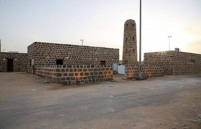 من مشروع ولي العهد لتطوير المساجد التاريخية.. مسجد الحديثة بالجوف