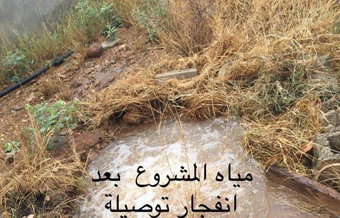 """""""العارضة"""".. ميزانية الـ 160 مليونًا لم توقف نزف الصهاريج في قرى الجوة"""