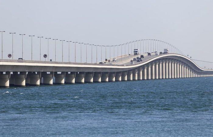 جسر الملك فهد: فحص PCR ضروري لدخول غير السعوديين للمملكة