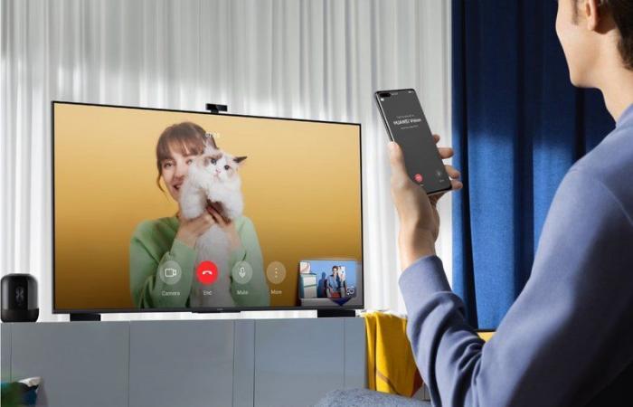 """مكالمات فيديو.. أسباب مذهلة تجعل """"شاشة HUAWEI S الذكية"""" خيارك الأول"""