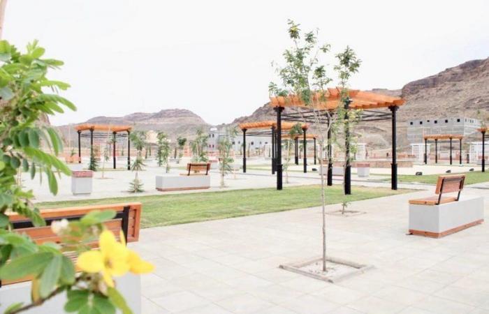 بلدية ظهران الجنوب تنجز حديقة المهيد على مساحة أكثر من 10 آلاف متر مربع
