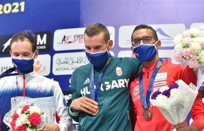 الجندي وأشرف ثنائي مصري جديد يتأهلان لأولمبياد طوكيو