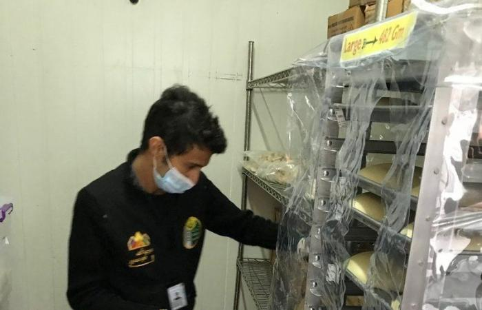 """""""أمانة عسير"""" تضبط مخبزًا شهيرًا في أبها خالف الاشتراطات الصحية"""