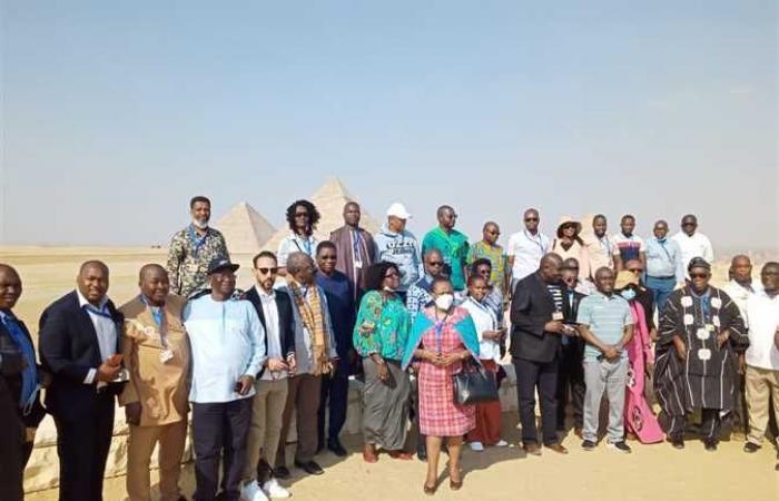 رؤساء المحاكم والمجالس الدستورية والعليا الأفريقية في ضيافة الأهرامات