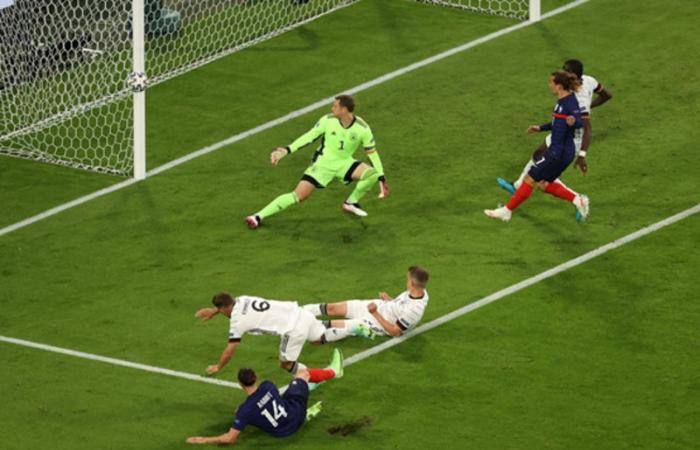 النيران الصديقة تمنح فرنسا فوزًا ثمينًا على ألمانيا