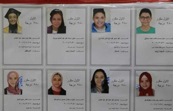 محافظ القاهرة يعتمد نتيجة الشهادة الإعدادية بنسبة نجاح 83.9%