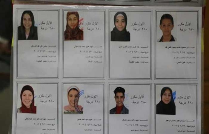 ننشر أسماء وصور أوائل الشهادة الإعدادية محافظة القاهرة 2021