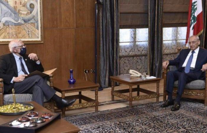 """""""بري"""": عقبات داخلية تؤخر تشكيل الحكومة اللبنانية"""