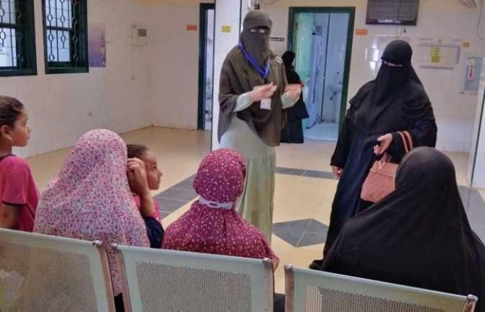 تقديم الخدمة الطبية لـ14 ألف سيدة ضمن المرحلة الثانية لحملة «حقك تنظمي» بالشرقية