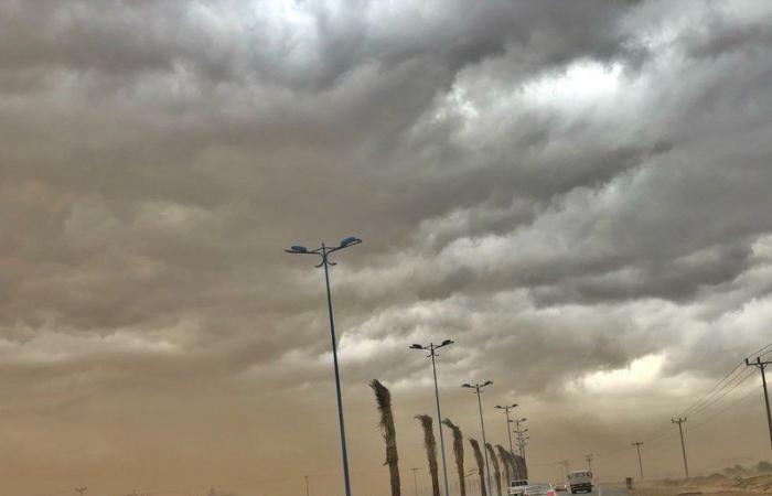 حالة تستمر حتى 8 مساءً.. أمطار رعدية على جازان مصحوبة برياح نشطة