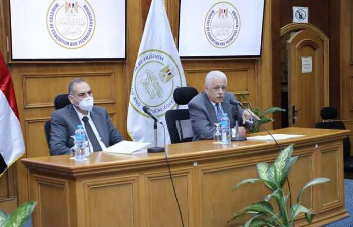 وزير التعليم يلتقي أولياء أمور مدارس النيل: المشروع يحظى برعاية واهتمام الرئيس