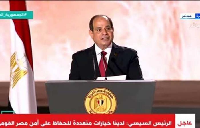محافظ الإسكندرية يهنئ الرئيس بعيد الأضحى المبارك